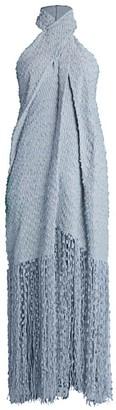 Jacquemus La Robe Cortese Twisted Halterneck Dress