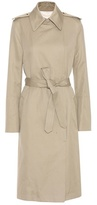 Helmut Lang Cotton and linen trench coat