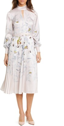 Ted Baker Doxie Everglade Long Sleeve Dress
