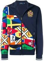 Polo Ralph Lauren flag pattern fleece jacket