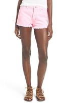 Hudson 'Tori' High Rise Denim Shorts (Luminous Pink)
