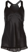 Rag & Bone Ruby Silk Crepe De Chine Camisole - Black