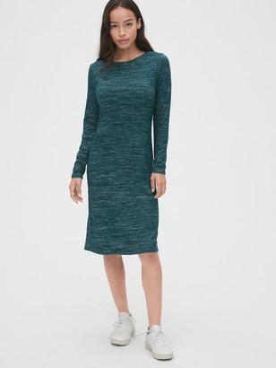 Gap Softspun Twist-Back Midi Dress