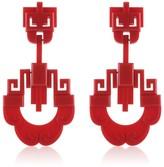 Earring Xangai Red