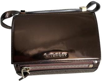 Givenchy Pandora Box Metallic Patent leather Handbags