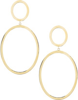 Lana Double-Oval Drop Earrings