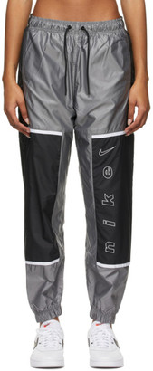 Nike Black and Grey Sportswear Archive Rmx Lounge Pants