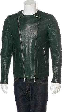 Balmain Quilted Lambskin Jacket