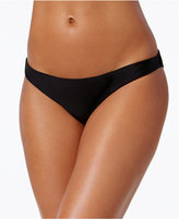 Rachel Roy Ruched-Back Cheeky Bikini Bottoms