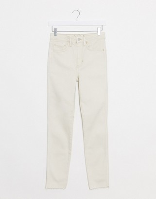 Free People raw high rise jeans