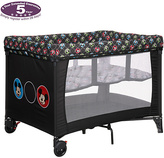 Disney Travel Cot and Bassinette - Mickey Circles