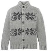 Petit Bateau Boys wool blend jacquard jacket