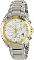 Citizen Women's FB1394-52A Celestial Analog Display Japanese Quartz Two Tone Watch
