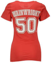 5th & Ocean Women's Adam Wainwright St. Louis Cardinals Player T-Shirt