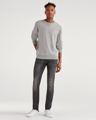 7 For All Mankind Luxe Sport Skinny Paxtyn with Clean Pocket in Authentic Vicious Grey
