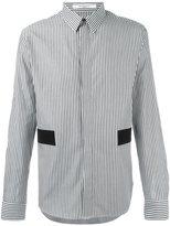 Givenchy striped block panel shirt