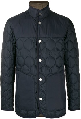 Ermenegildo Zegna high-neck quilted jacket