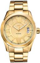 JBW Goldtone Bond Bracelet Watch - Men