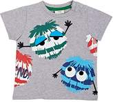 Fendi Infants' Monster-Print Cotton T-Shirt