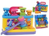Fun Time Pop Up Friends Hammer & Shape Sorter 2 in 1 Baby Toy - Suitable From 18 Months + by Funtime
