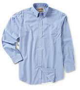 Roundtree & Yorke Gold Label Big & Tall Non-Iron Long-Sleeve Check Sportshirt