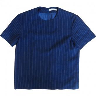 Celine Navy Wool Top for Women