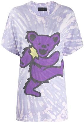 Amiri tie-dye graphic print T-shirt