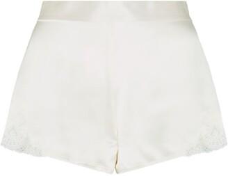 Aubade Silk Lace Shorts
