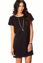 Forever 21 Essential Buttoned Shift Dress