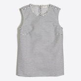 J.Crew Factory Striped corded shell