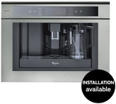 Whirlpool ACE102IXL 59.5cm Built In Coffee Machine - Stainless Steel