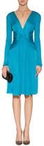 Issa Silk Jersey Long Sleeve Mississippi Dress