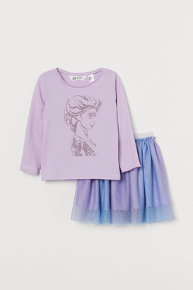 H&M 2-piece Frozen set