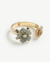 Ann Taylor Floral Crystal Bangle