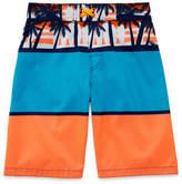 Arizona Tropical Print Swim Trunk - Boys 4-20 & Husky