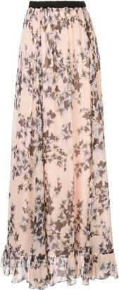 Philosophy di Lorenzo Serafini Floral Print Skirt
