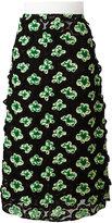 Marni Floral mesh midi skirt - women - Silk/Polyamide/Polyester/Spandex/Elastane - 44