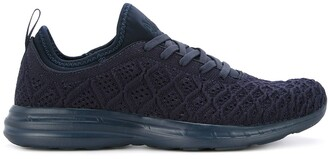 APL Athletic Propulsion Labs Textured Lace-Up Sneakers