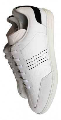 Christian Dior B01 White Leather Trainers