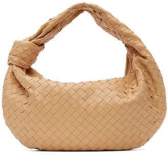 Bottega Veneta Beige The Small Jodie Bag