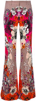 Roberto Cavalli floral printed pants - women - Polyester/Spandex/Elastane/Viscose - 42
