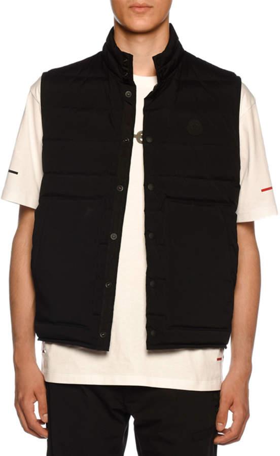 Moncler Men's Merak Snap-Front Vest