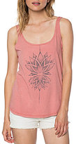 O'Neill Wild Lotus Graphic Jersey Knit Tank Top