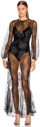 Fleur Du Mal Mermaid Dress in Black | FWRD