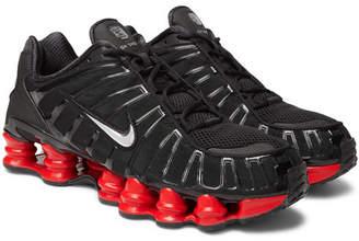 Nike Skepta Sk Shox Tl Rubber-Trimmed Mesh Sneakers