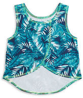 Lucky Brand Girls 7-16 Hi-Lo Palm Tank