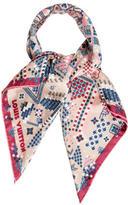 Louis Vuitton Printed Silk Scarf