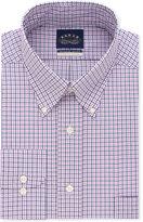 Eagle Men's Classic-Fit Stretch Collar Non-Iron Check Dress Shirt
