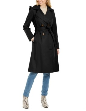 Via Spiga Double-Breasted Trench Coat