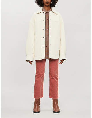 Acne Studios Ocilia long-sleeved knitted jacket